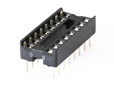 10 x 16 Pin DIP IC Socket (Brisbane Stock)