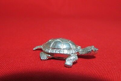 Pewter Turtle  Figurine