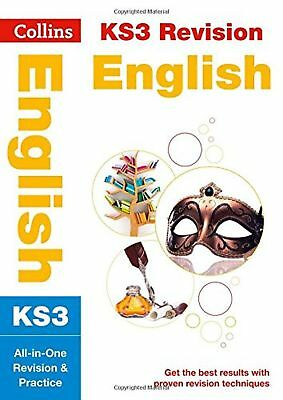 KS3 English All In One Revision And Practice Collins Study Aid Book New