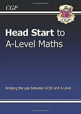 New Head Start To A Level Maths Mathematics Study Aid Book New Free Post