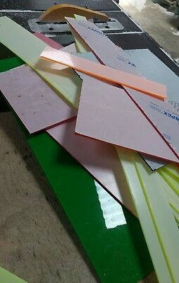 Clear and Coloured Acrylic offcuts