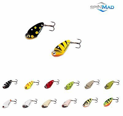 SpinMad Blade Bait CMA 2,5g PERCH CHUB Tail Spinner PIKE Predator Tackle Lure