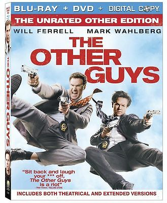 The Other Guys (Blu-ray/DVD, 2010, 2-Disc Set) - NEW!!