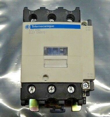 LC1 D50G7 LC1D50G7 Schneider Electric Contactor 600Vac 50A 3 Pole Square D