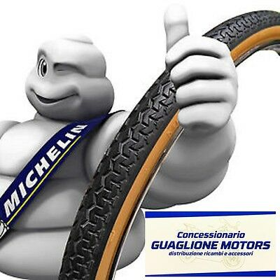 Copertone Michelin 700X35 28X1 5/8 3/8 World Tour Nero Para Per Bici 28 Tipo R