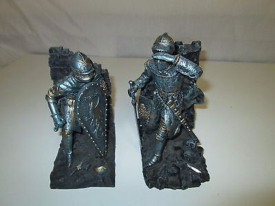Medieval Knight in Armor Book Ends