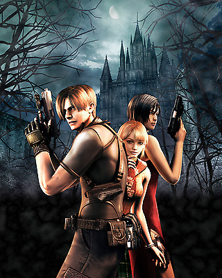 Resident Evil 4 Poster A4 A3 A2 A1 Gift Present SW1007