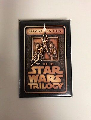 The Star Wars Trilogy MOVIE PIN / BUTTON Special Edition PROMO Item
