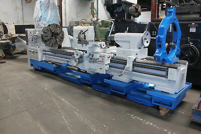 "32""/42"" Swing x 120"" Center Poreba TPK Heavy Duty Engine Lathe  Metal Turning"