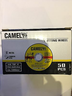 "100pack 4-1/2""x0.05""x7/8""Anbor Metal Cutting Disc Stainless Cut Off Wheel Premi"