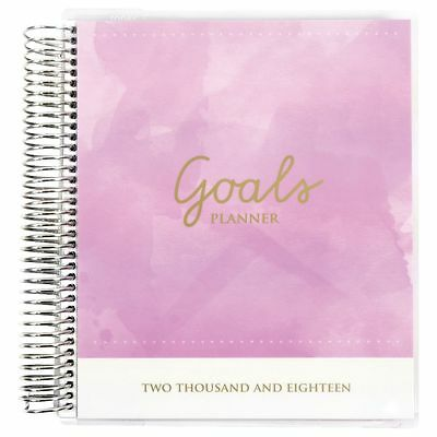 Otto Spiral Week to View 2018 Personal Goals Planner