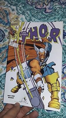 THE MIGHTY THOR  #337  comic book MARVEL 1st app Beta Ray Bill legends reprint