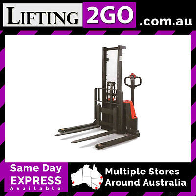 ECL1029M Electric Platform Straddle Stacker 1000kg rated - 2840mm lift hgt (QLD)