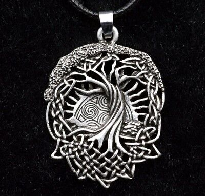 Celtics Tree pendant Necklace Norse Viking Wicca Druid Tree of Life Necklace