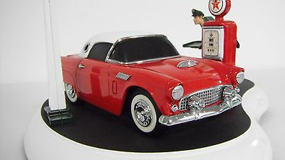 Franklin Mint Texaco Service With A Smile Mechanical Bank Thunderbird