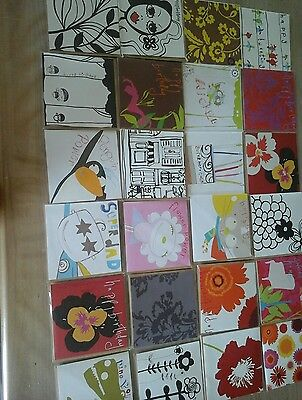 50 mixed sooshichacha cards, wholesale joblot greeting cards