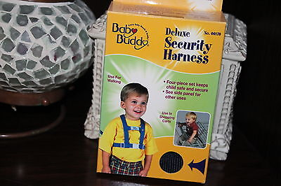 Baby Buddy Deluxe Security Harness Navy Blue * FREE SHIPPING *