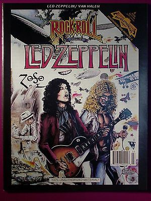Led Zeppelin ROCK and ROLL Comic Book Volume 1 First Printing Year 1991 NM