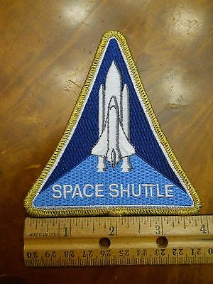 """Nasa Space Shuttle 4""""  Patch, New Old Stock"""