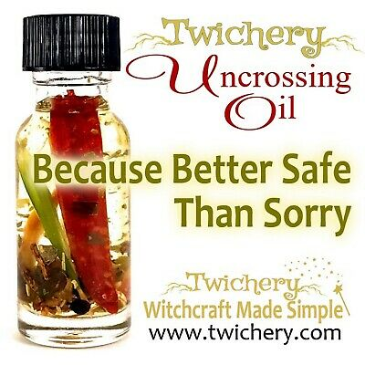 UNCROSSING OIL, Remove Hexes Negativity Hoodoo Palo Santo FREE SHIPPING!! Wicca