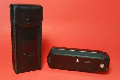 Canon Power Winder A2 Vintage Excellent Free Shipping with Original Case