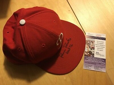 Robin Roberts Autograph Signed Phillies Cooperstown Collection Fitted Hat JSA