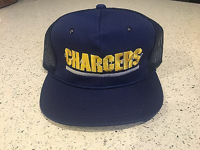 Vintage Sports Specialties NFL San Diego Chargers Trucker Snap Back Hat