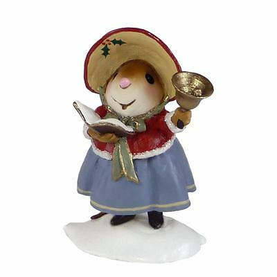 MOMMA CAROLER by Wee Forest Folk, WFF# M-552, Caroling Mouse