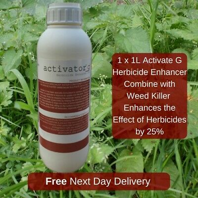 Activate G Herbicide Weedkiller Enhancer Makes It Work 25-30% More Effective 1L