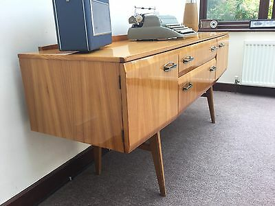 Vintage Meredew Sideboard High Gloss Maple  Delivery Available G Plan Era