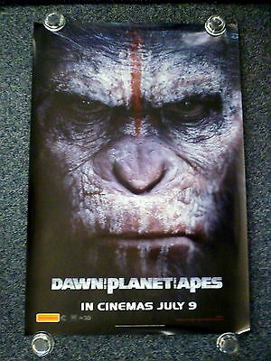 DAWN OF THE PLANET OF THE APES 2010s Original Advance OS Movie Poster 1