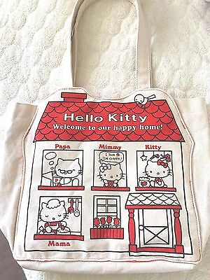 SANRIO Hello Kitty Canvas Tote bag Japan