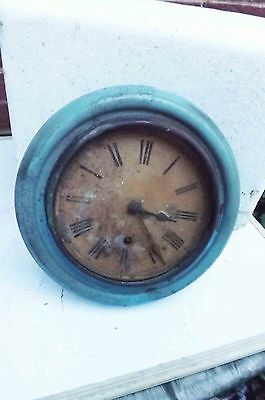 antique wall clock restoration project