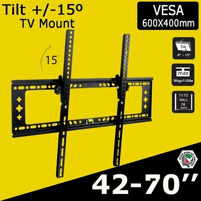 "Led Lcd Tv Wall Mount Bracket 32 40 46 50 55 60 64 65 75"" For Samsung Uhd Oled"