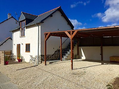 1 BEDROOM HOLIDAY COTTAGE GITE TO RENT IN BRITTANY FRANCE++Fishing Walking Relax