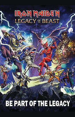 Iron Maiden Poster Print Photo Legacy of The Beast