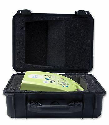 Zoll AED Plus Large Pelican Case (with cut outs for CPR-D padz and Pedi Pads II)