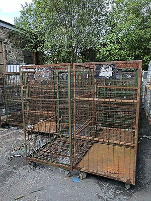 Security pallet roll cages. (fully enclosed)