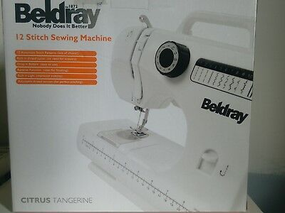 beldray sewing machine instructions