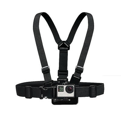 Adjustable Elastic Chest Strap Harness Mount GoPro HD Hero 1 2 3 3+ 4 Camera