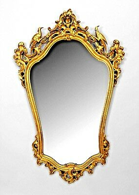 English Chinese Chippendale Style (19/20th Cent.) Gilt Vertical Wall Mirror