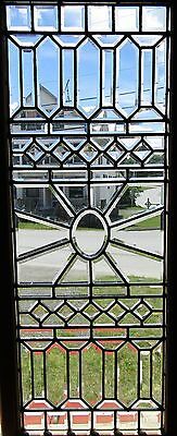 Victorian Beveled Glass Window - Sunburst Center