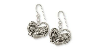 Pbgv Petite Brussels Griffon Vandeen Earrings Silver Dog Jewelry GV2-E
