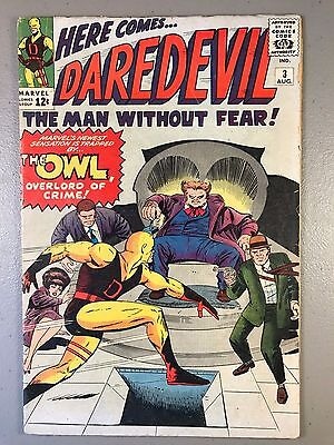 Daredevil # 3 ~ Origin & 1st appearance of The Owl