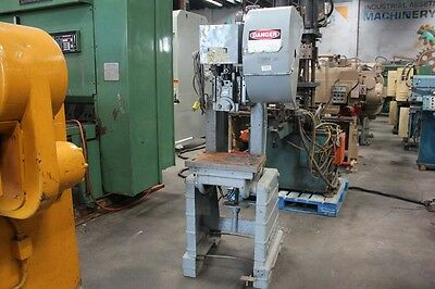 "15 Ton Rousselle MDL 2E OBI Power Punch Press 3"" Stroke Metal Stamping Forming"
