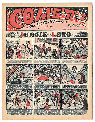 Comet issue 39 (9th March 1948) very high grade - Three Musketeers