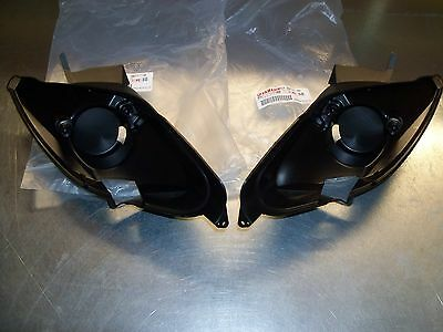 New Yamaha Raptor 660 R Left Right HeadLight Bucket Body Bracket Housing Mount