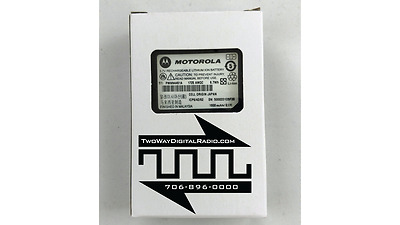 MOTOROLA OEM APX MotoTRBO Bluetooth Wireless RSM Battery 1800mah Li-Ion  PMNN4461