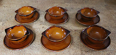 Saint Clement St Clement France Provencal Cognac 6x Suppentasse mit Untertasse
