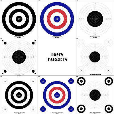 CARD TARGETS Airsoft Air Rifle Target shooting.177 .22 BB
